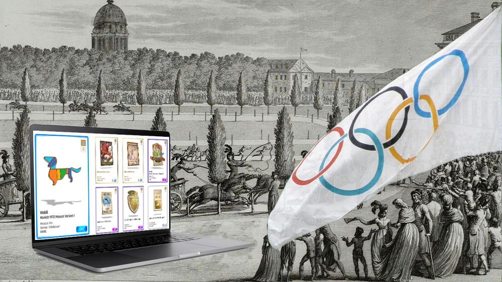 Juegos Olímpicos tendrán su colección de pines en formato NFT