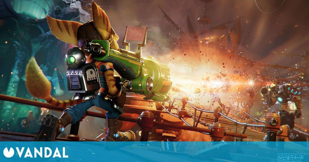 PlayStation recibe Ratchet & Clank: Una Dimensión Aparte con un evento especial