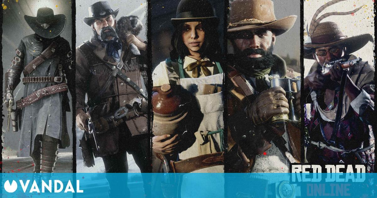 Red Dead Online: Doble de recompensas, bonificaciones por subir niveles de rol y más