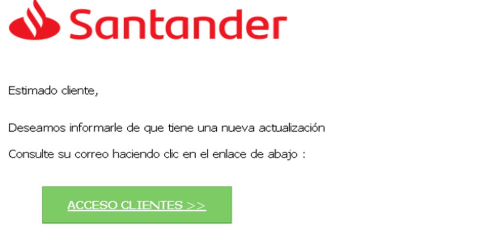 alertan sobre ciberestafas para robarle el dinero a clientes del Santander, CaixaBank y BBVA