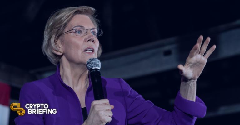 La senadora Elizabeth Warren critica el uso de energía de Bitcoin