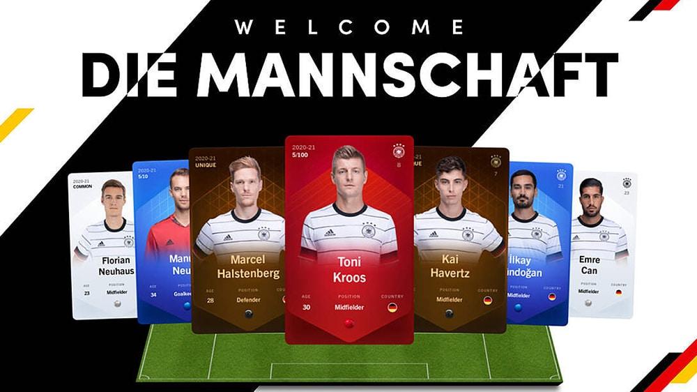 Selección alemana de fútbol se une al mundo de los NFT de la mano de Sorare