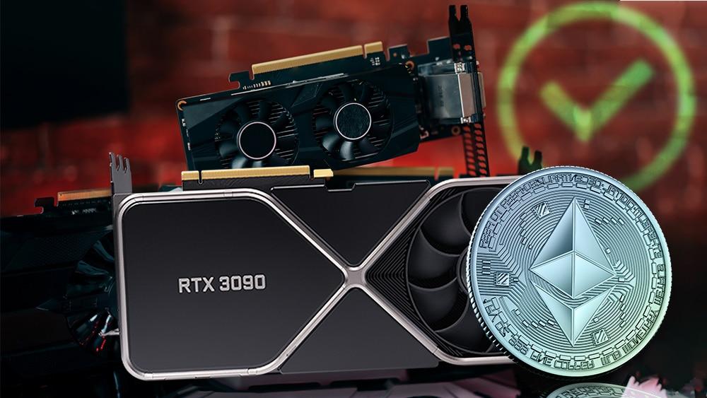 Las nuevas tarjetas Nvidia RTX 3090 no estarán limitadas para minar criptomonedas