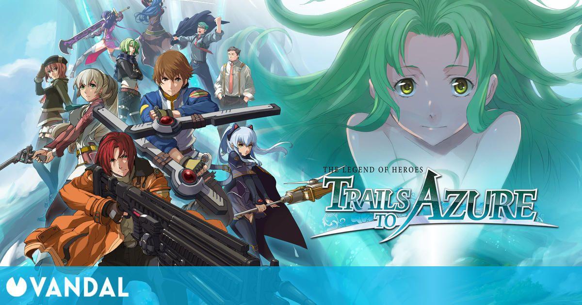 The Legend of Heroes: Trails to Azure se estrena en Occidente en 2023
