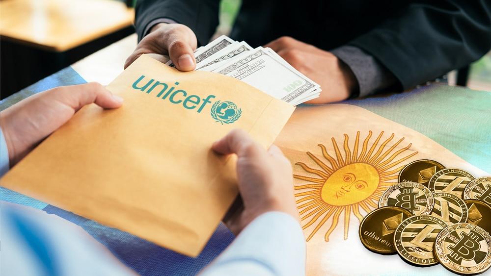 Unicef invierte 44 ethers para que más argentinos accedan a criptomonedas