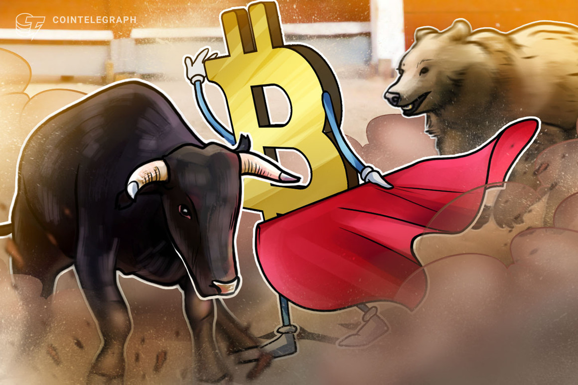 Los alcistas y bajistas se pelean por el precio de Bitcoin en USD 34,000 ante el vencimiento de las opciones por USD 445 millones