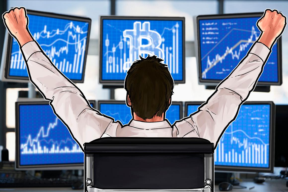 Este patrón de comercio clásico señaló que el precio de Bitcoin había alcanzado un pico