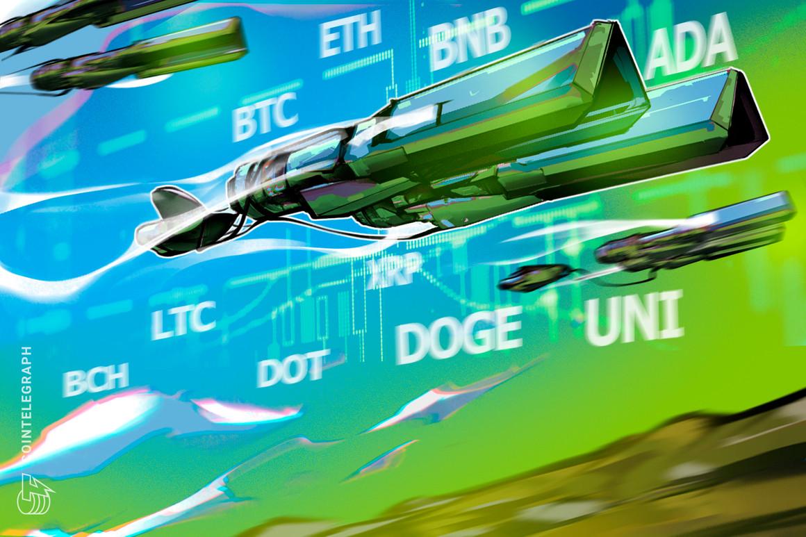 Análisis de precios del 28 de julio: BTC, ETH, BNB, ADA, XRP, DOGE, DOT, UNI, BCH, LTC