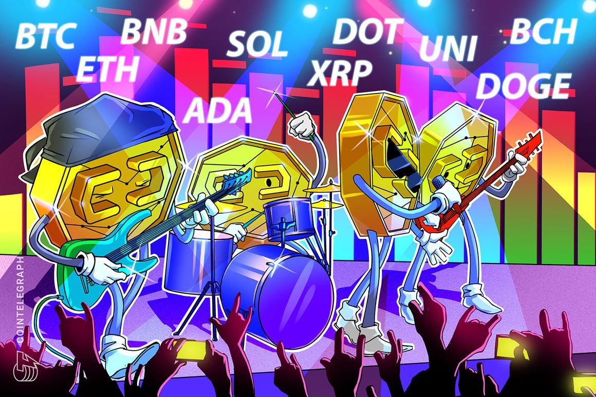 Análisis de precios del 7 de julio: BTC, ETH, BNB, ADA, DOGE, XRP, DOT, UNI, BCH, SOL