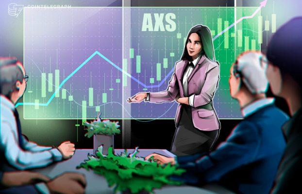 Axie Infinity renueva su récord y AXS aumenta un 131% en sólo 3 días