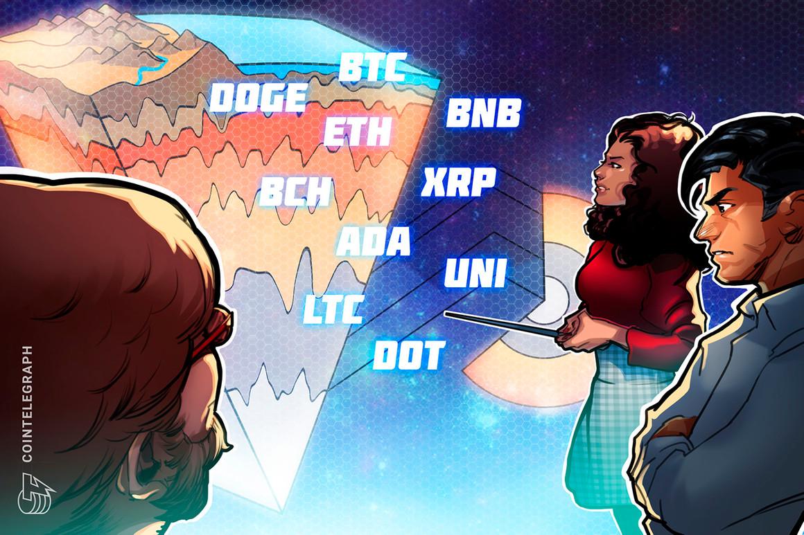 Análisis de precios del 30 de julio: BTC, ETH, BNB, ADA, XRP, DOGE, DOT, UNI, BCH, LTC