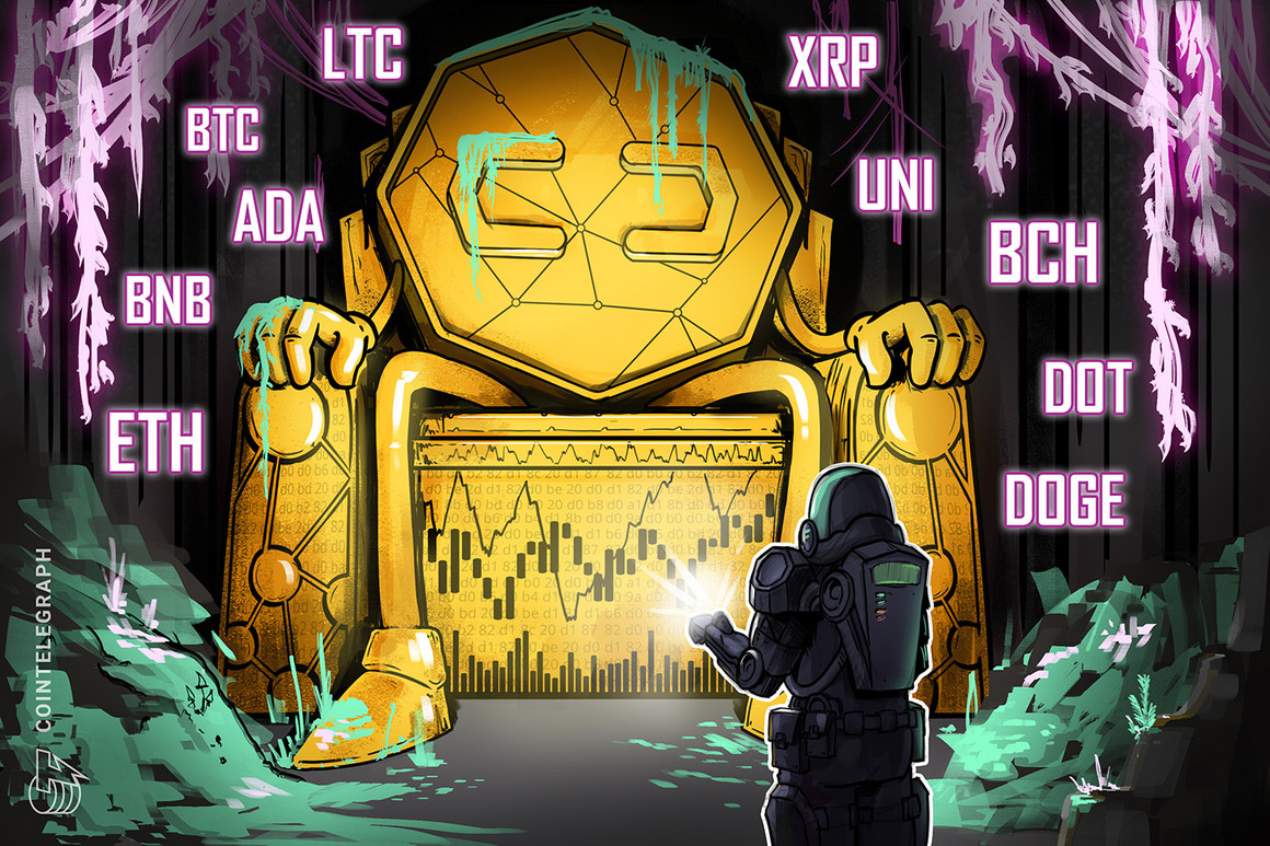 Análisis de precios del 21 de julio: BTC, ETH, BNB, ADA, XRP, DOGE, DOT, UNI, BCH, LTC