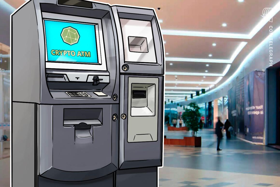 Las instalaciones mundiales de cajeros automáticos de criptomonedas han aumentado un 70% en 2021
