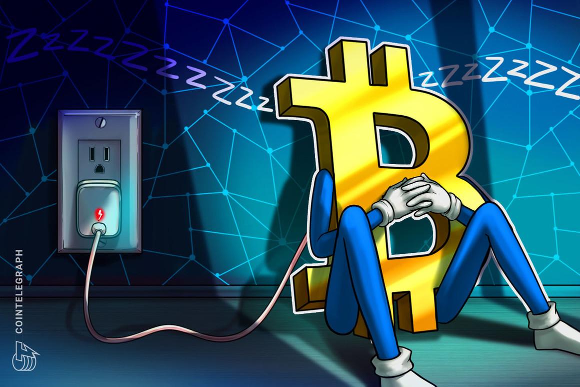 El consumo eléctrico de Bitcoin cae a niveles de noviembre de 2020, según datos del sector
