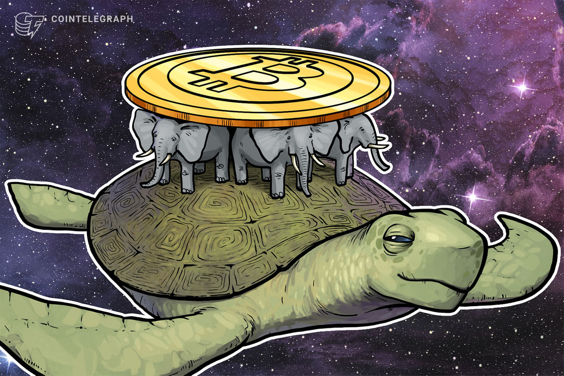 La baja velocidad récord de Bitcoin sugiere que el precio puede «moverse a la baja»