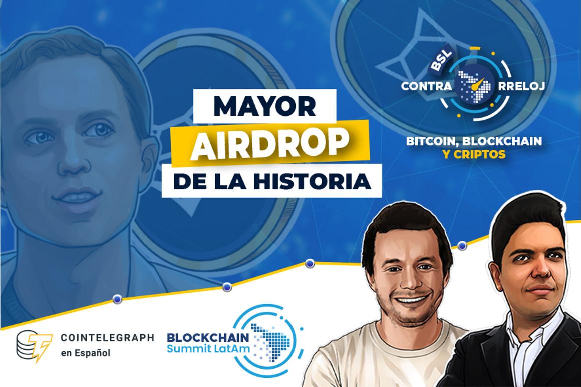 Mayor Airdrop de la historia, Steve Mnuchin pro Bitcoin, Euro Digital y mucho más. Un resumen de las criptonoticias más importantes de la semana