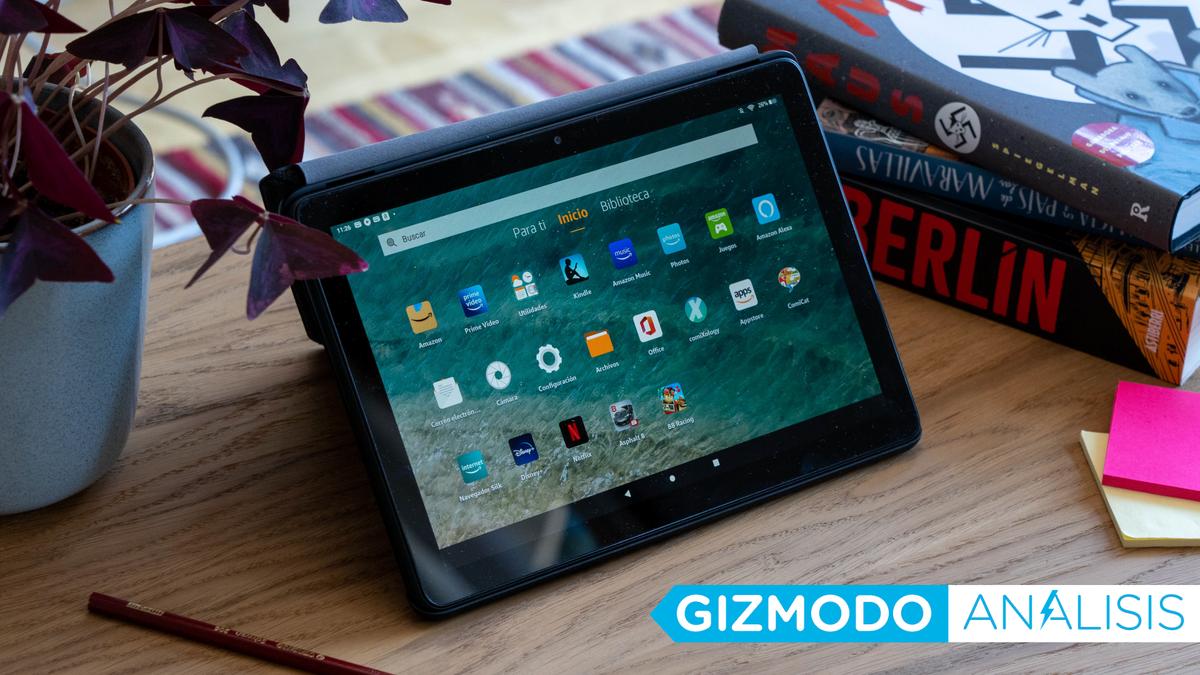 la tablet barata de Amazon sigue siendo una ganga