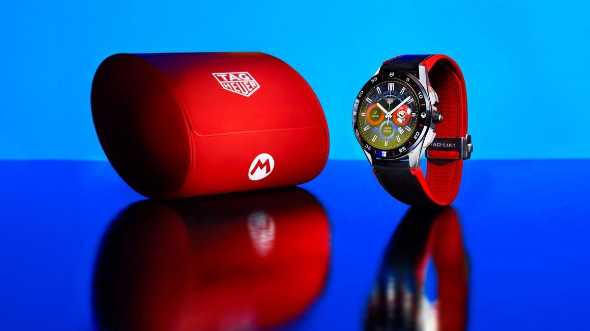 Tag Heuer saca un smartwatch de Super Mario que cuesta más de 2000 euros