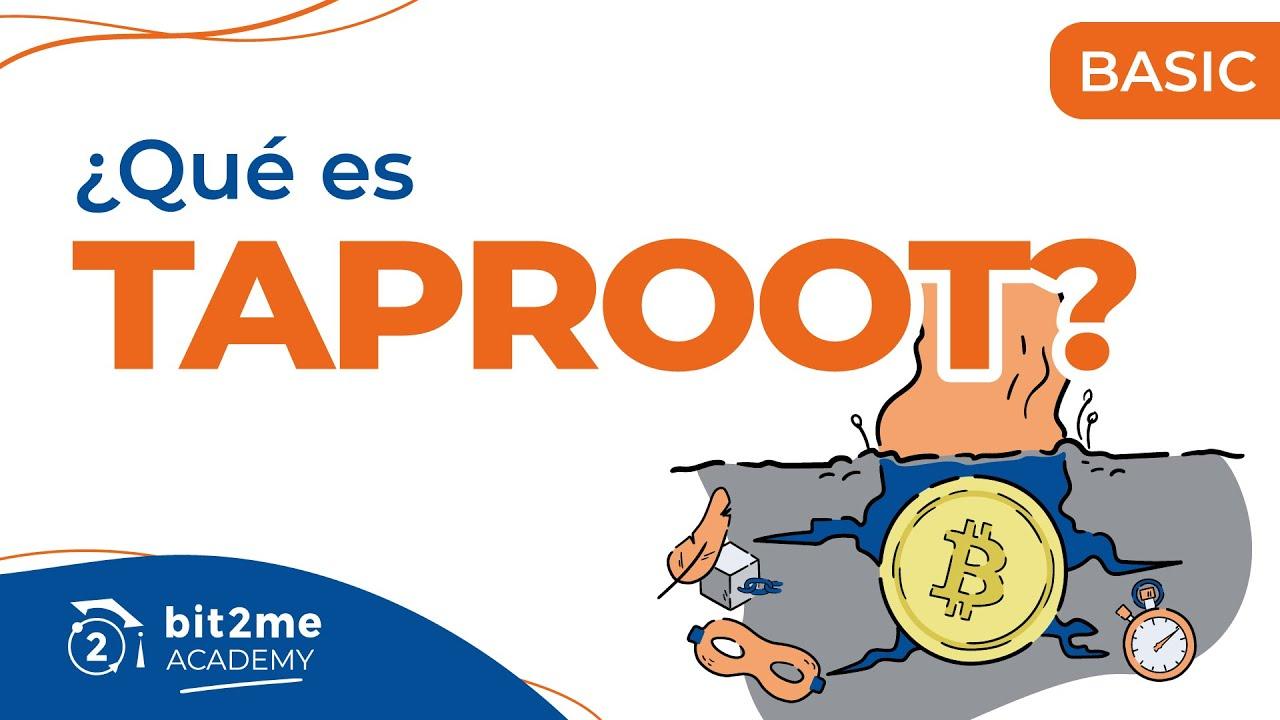 🎓 ¿Qué es TAPROOT? (Actualización de BITCOIN) – Bit2Me Academy