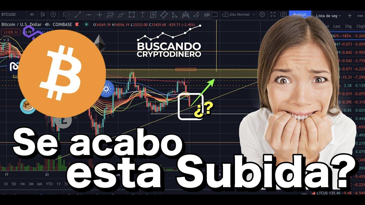 😮💨 Bitcoin ➤ Se acabo la subida? + 11 Monedas y Rifa de Litecoin !!