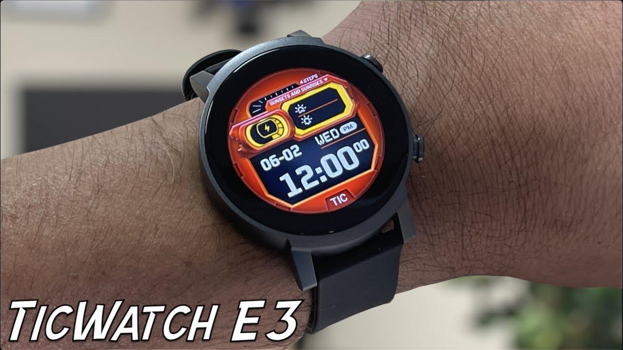 El SEGUNDO Smartwatch con Snapdragon 4100 y Wear OS, Ticwatch E3