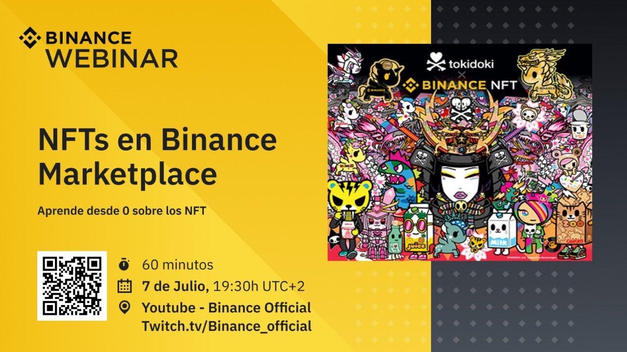 Mercado NFT de Binance – Webinar en español