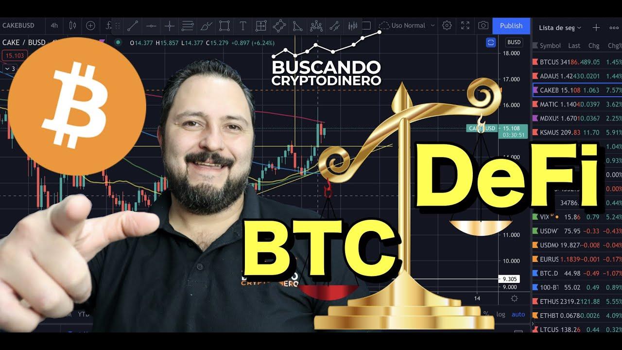 🤔 DeFi Toma la delantera y BTC indeciso + 12 monedas y Rifa de Litecoin !!