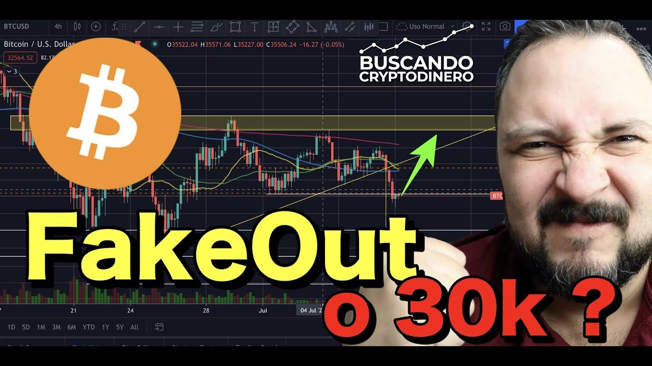 🤮 Bitcoin ➤ FakeOut o 30k?? y Rifa de Litecoin !!!