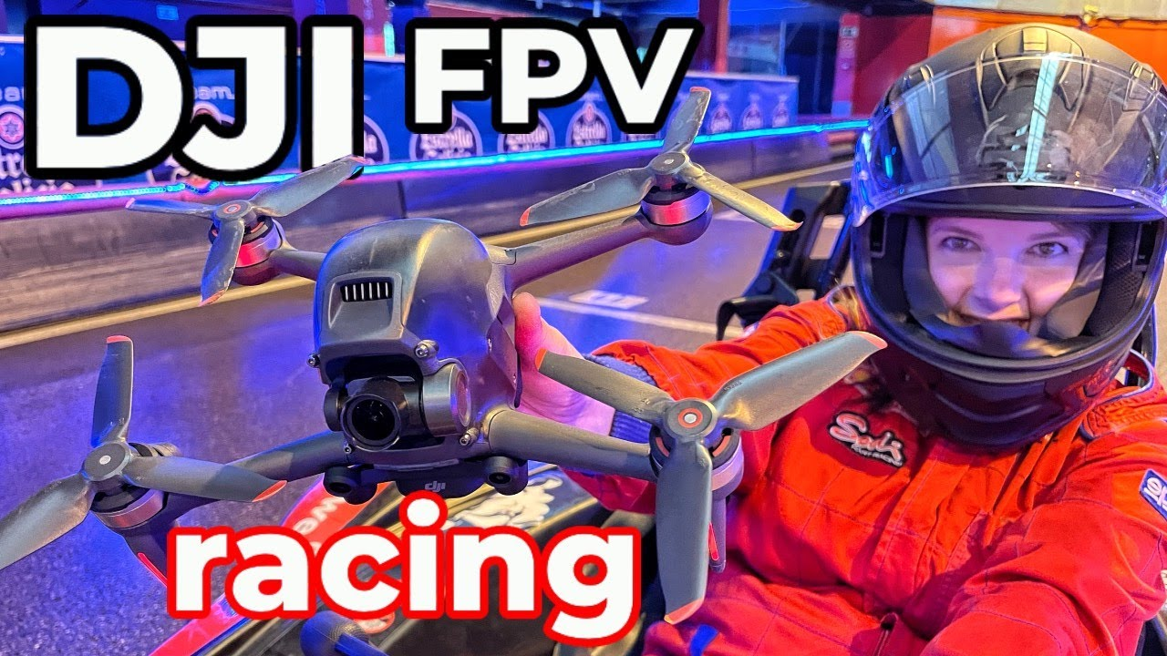 FAST & FURIOUS -DJI FPV -carrera en circuito de karting