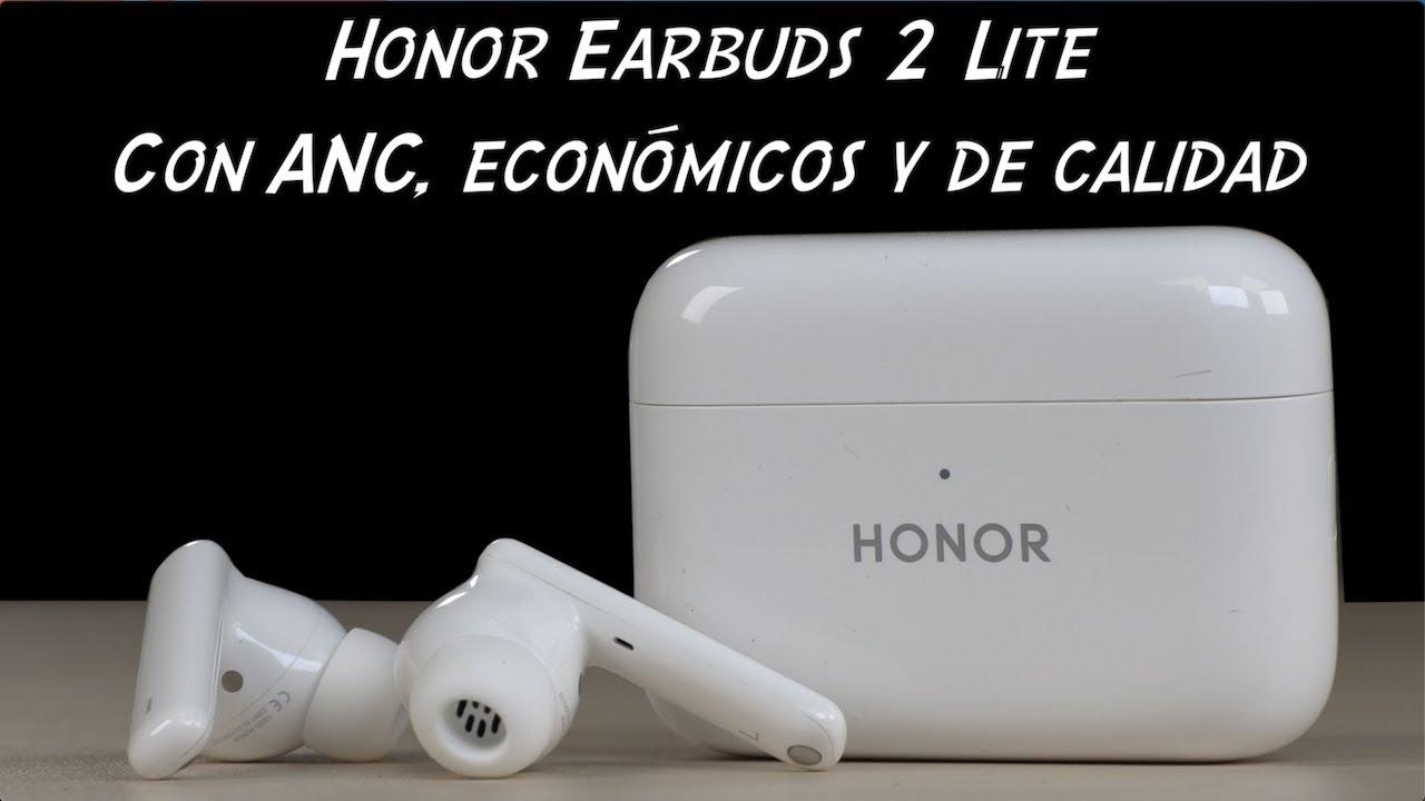 Lo nuevo de HONOR EarBuds 2 Lite con ANC, económicos y de calidad