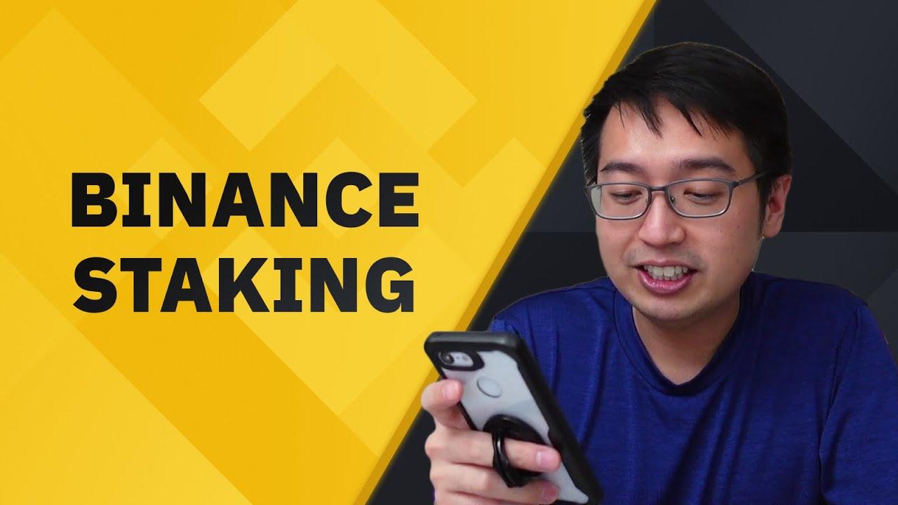 3 ways to stake on Binance