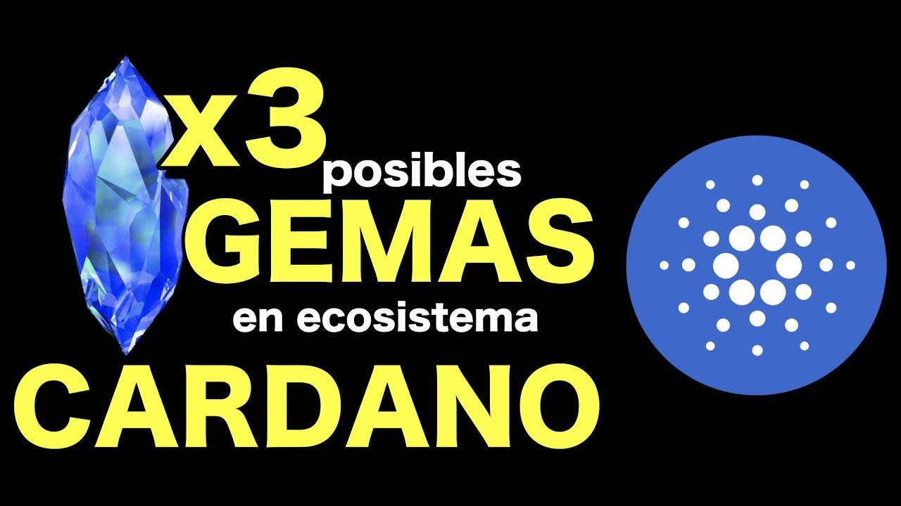 🔵 3 Posibles Gemas en Cardano ADA !!