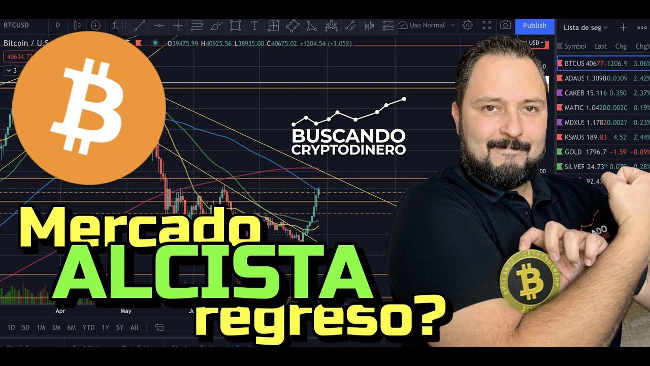 😅Bitcoin ➤ Mercado Alcista regreso??? + 8 Monedas y Rifa de Litecoin !!