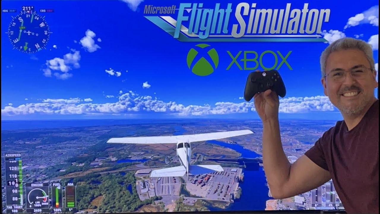 Probando FLIGHT SIMULATOR en el XBOX X