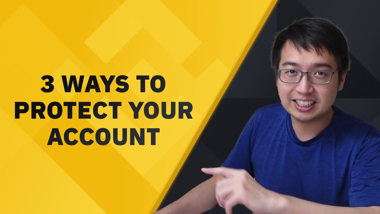 3 ways to secure your Binance account