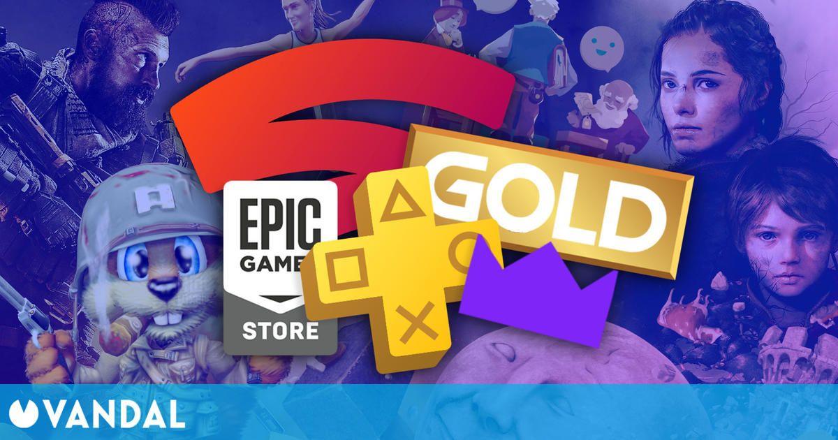 Juegos gratis de julio en PS Plus, Xbox Gold, Epic Games, Prime Gaming y Stadia Pro