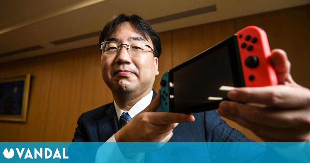 El presidente de Nintendo evita hablar sobre los rumores de Nintendo Switch Pro