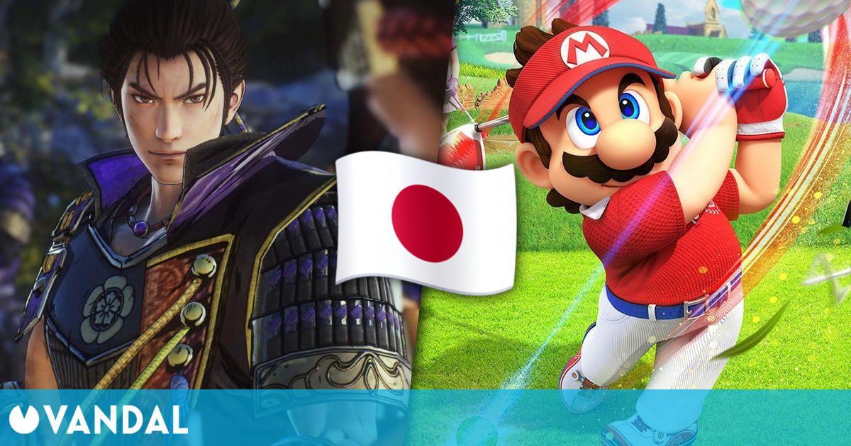 Samurai Warriors 5 y Mario Golf: Super Rush son los más vendidos de la semana en Japón