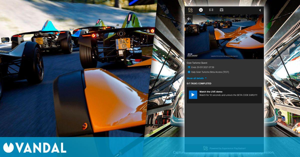 ¿Beta de Gran Turismo 7 inminente? La web de PlayStation apunta a ello