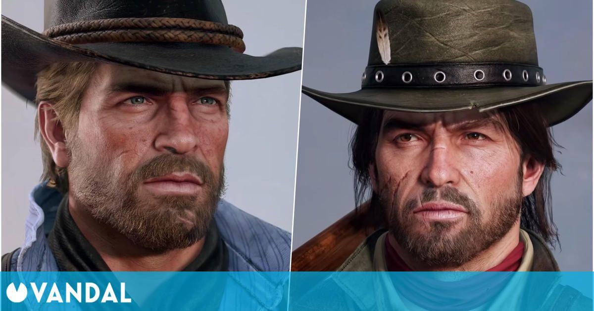 Los protagonistas de Red Dead Redemption se 'remasterizan' gracias a este artista
