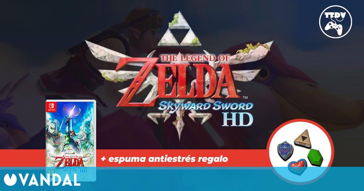 Reserva The Legend of Zelda Skyward Sword HD en TTDV y obtén una espuma antiestrés gratis