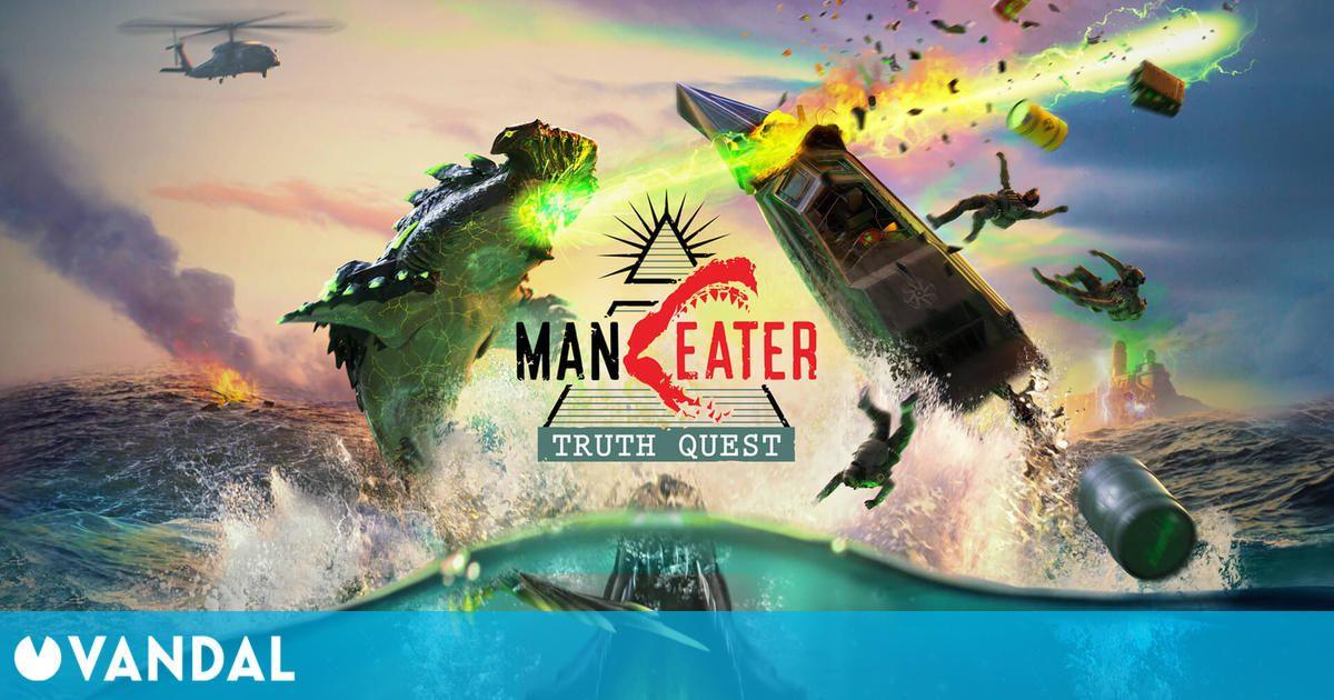 El DLC de Manteater aunará tiburones mutantes y teorías conspiracionistas en agosto