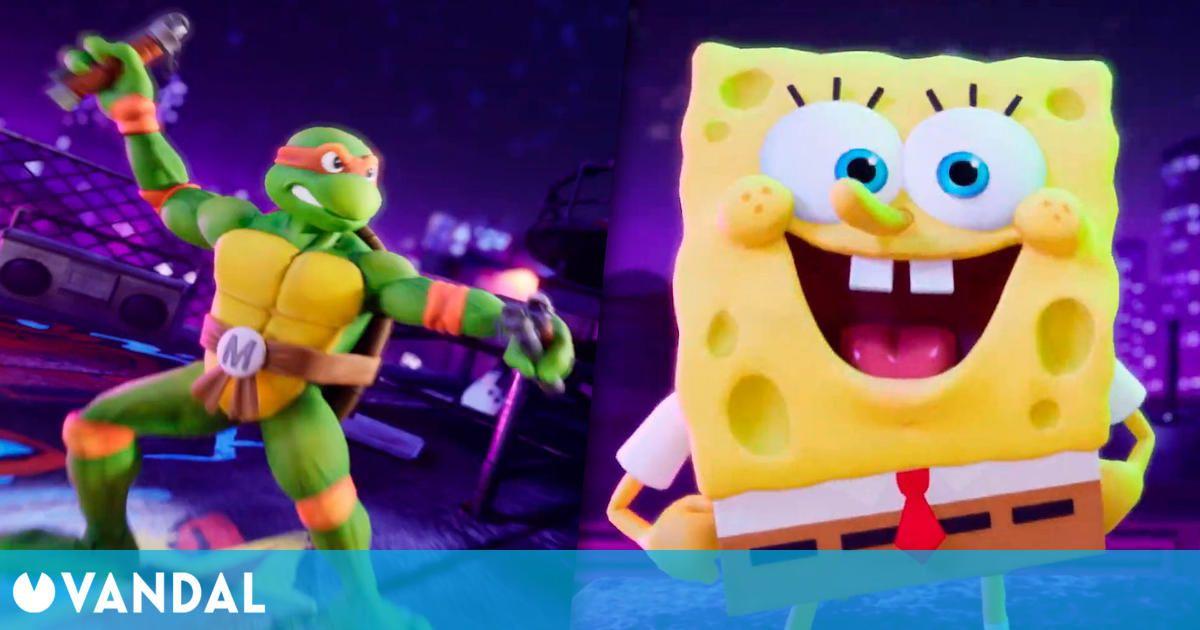 Nickelodeon All-Star Brawl reunirá a los personajes de animación en un nuevo juego de lucha
