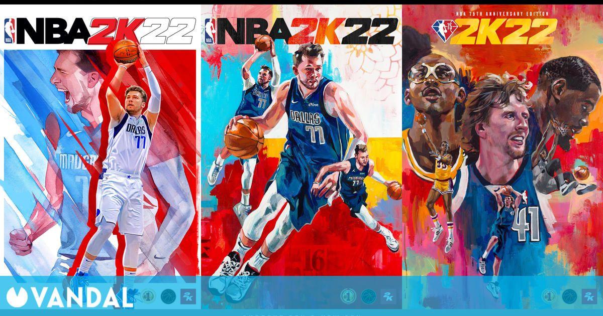 NBA 2K22 anuncia fecha de lanzamiento, ediciones y jugadores de portada