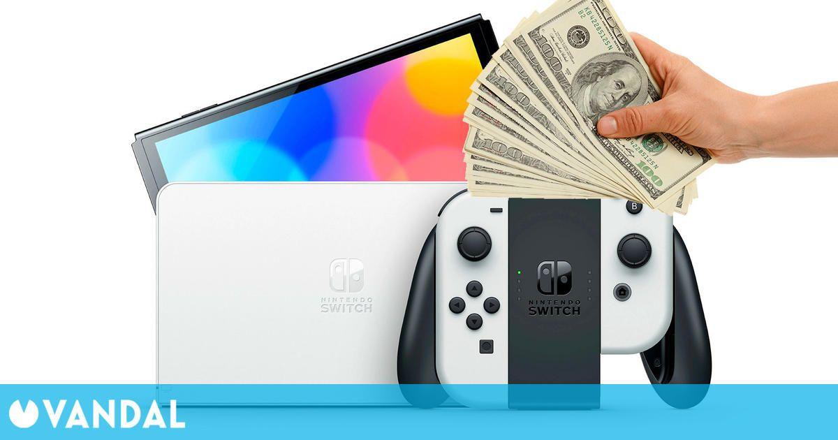 Estiman que la fabricación de Nintendo Switch OLED cuesta unos 10 dólares más por unidad