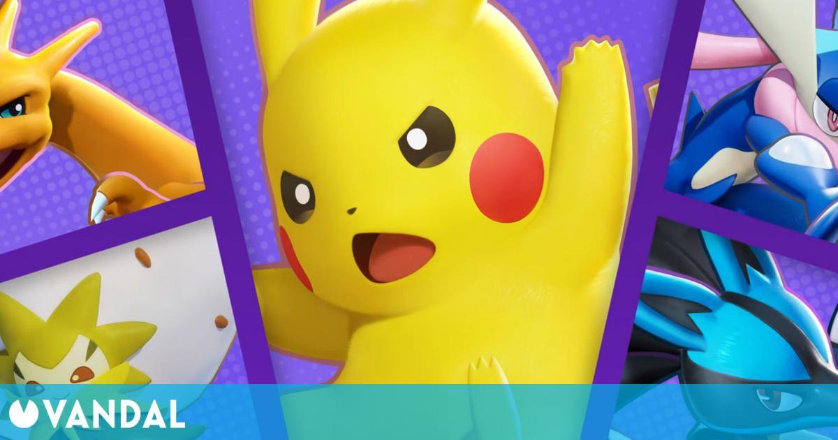 Pokémon Unite llega gratis a Nintendo Switch el 21 de julio