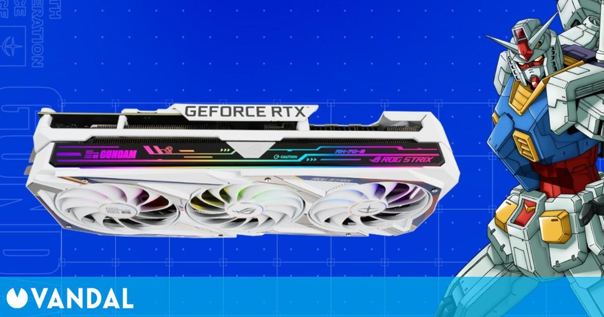 Las rarísimas gráficas RTX 3080 de Gundam se revenden para mineros de criptomonedas