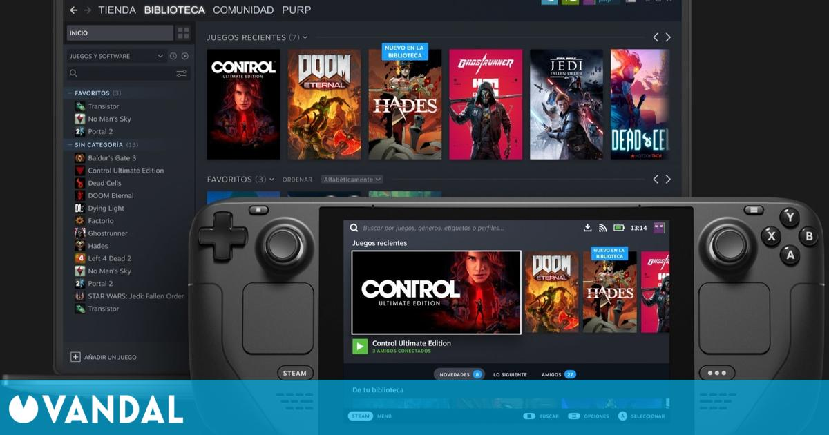 Steam Deck será un sistema abierto: podremos instalar cualquier software o sistema operativo