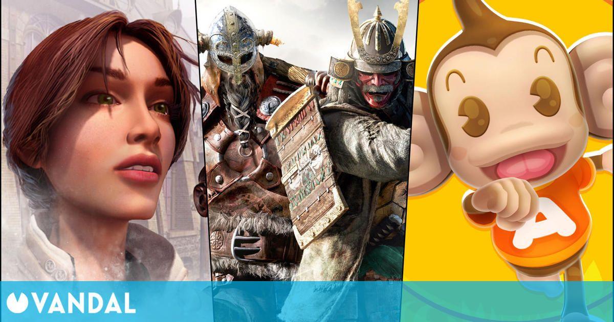 Juegos gratis y ofertas de este fin de semana: For Honor, Syberia, Monkey Ball y más