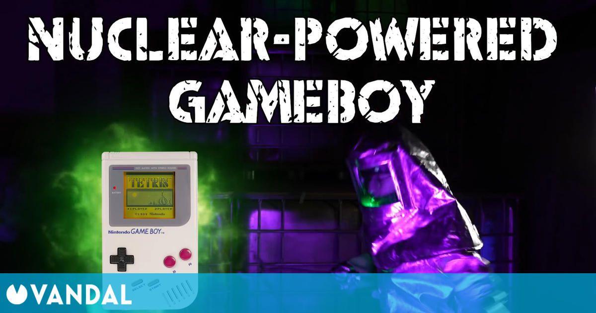 Crean una Game Boy que funciona a partir de energía nuclear y se puede jugar al Tetris